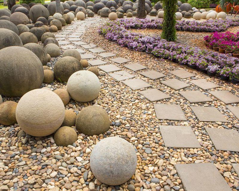 Дорожки в саду - фото оригинальных проектов