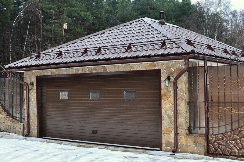 Крыша на гараж своими руками - выбираем из чего сделать, и чем покрыть