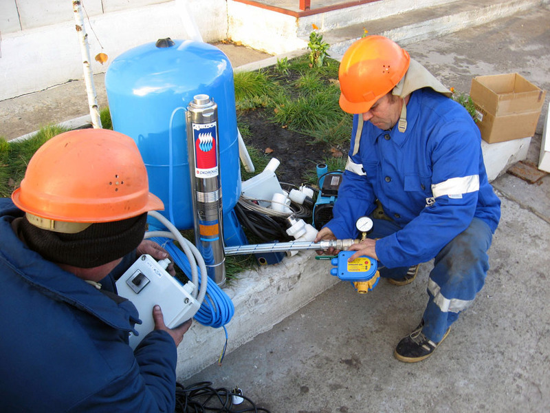 Обустройство скважины на воду для дач и частных домов