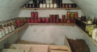 Подготовка хранилища для овощей и фруктов