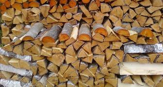 Заготовка дров для дачи на зиму