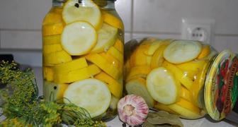 Маринованные кабачки на зиму рецепт с фото