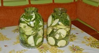 Засолка кабачков на зиму рецепт