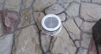 Установка вентиляции в подвале или хранилище
