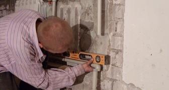 Установка радиаторов отопления своими руками фото