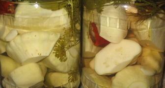 Заготовки на зиму из кабачков и патиссонов