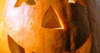 Тыква на хеллоуин фото