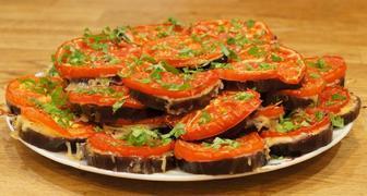 Рецепты приготовления жареных баклажанов