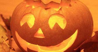 Фонарь из тыквы на Хэллоуин своими руками