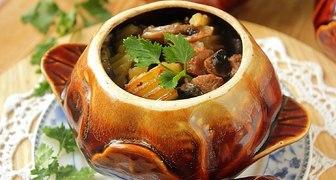 Баклажаны с говядиной и овощами рецепт фото