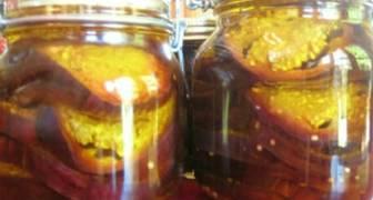 Жареные баклажаны с чесночком без стерилизации