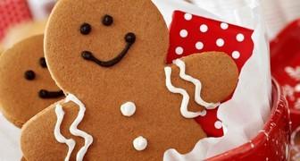 Рождественское имбирное печенье или пряничные человечки