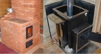Какую печь выбрать для обогрева частного дома и дачи