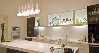 Как выбрать светильники и люстры для загородной кухни