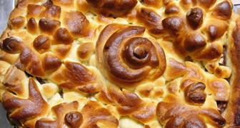 Рецепт дрожжевого теста для пирога с домашним вареньем рецепт фото