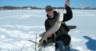 Зимняя рыбалка: азарт доступный каждому