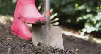 Подготавливаем грядки в огороде и теплицах к весенним посадкам, вносим удобрения