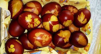 Оригинальное украшение пасхальных яиц