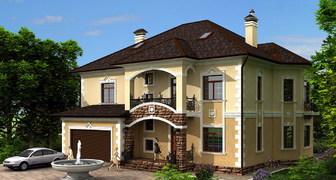 Частные дома и коттеджи: фото красивых дизайн проектов