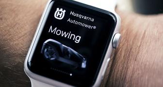 Husqvarna представляет приложение для Apple Watch для газонокосилок