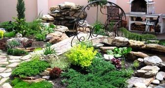 Создаем каменный сад на участке. Выбираем материалы для рокария.