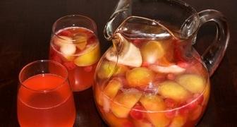 Компот из яблок и земляники рецепт фото