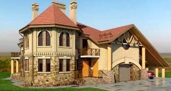 Лучшие проекты домов и коттеджей, фото и описание