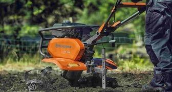 Обработка почвы стала проще с культиваторами Husqvarna фото