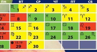 Лунный календарь на ноябрь 2016 для огородников