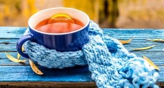 6 рецептов чая - целебного и согревающего от простуды и кашля