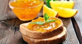 Апельсиновое варенье с виски и лимоном