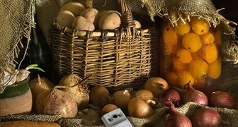 Создаем условия хранения урожая овощей и фруктов до весны