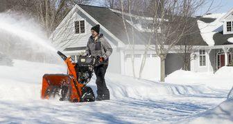 Решения по повышению эффективности снегоуборочных работ от Husqvarna