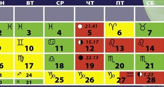 Лунный календарь на октябрь 2020 для огородников