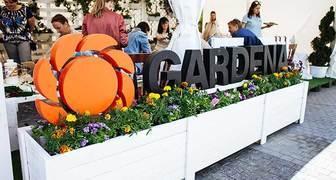 GARDENA на открытии фестиваля Moscow Flower Show