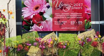 24 международная выставка Цветы в Москве - Flowers 2017 на ВДНХ