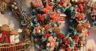 Предновогодняя Рождественская ярмарка 2017 в Красноярске фото