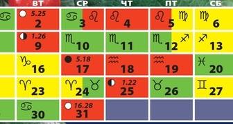 Лунный календарь на январь 2018 для огородников