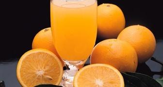 Лимонад из свежих апельсинов с лимонной кислотой
