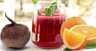 Тонизирующий свекольно-апельсиновый лимонад рецепт фото