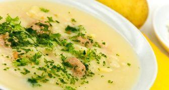 Полезный крем-суп с фасолью консервированной на овощном бульоне