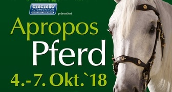 Apropos Pferd 2018 - выставка лошадей и оборудования для конного спорта фото