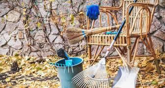 Филиппова канитель: убираем инструмент на хранение, готовим дом к зиме