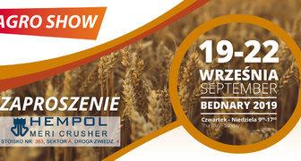 Международная сельскохозяйственная выставка Agro Show 2019 в Польше