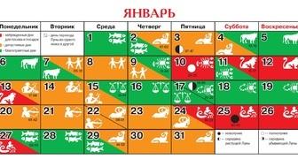 Лунный календарь на январь 2020 для огородников