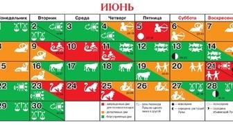 Посевной календарь на июнь 2020 для огородников